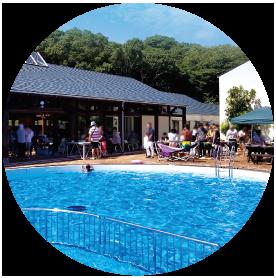 ヴィラダイオーリゾートの屋外プールの画像