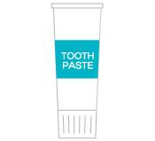 ヴィラダイオーリゾートの歯磨き粉の画像