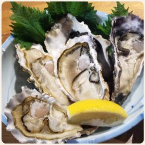 ヴィラダイオーリゾートの牡蠣満喫コース【12月〜3月限定】の画像